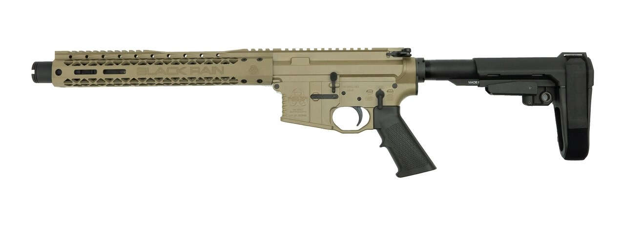 "Image of Black Rain Ordnance Fallout15 Pistol, .223/5.56, 10.5"" Barrel, SBA3 Brace, FDE, 30rd"