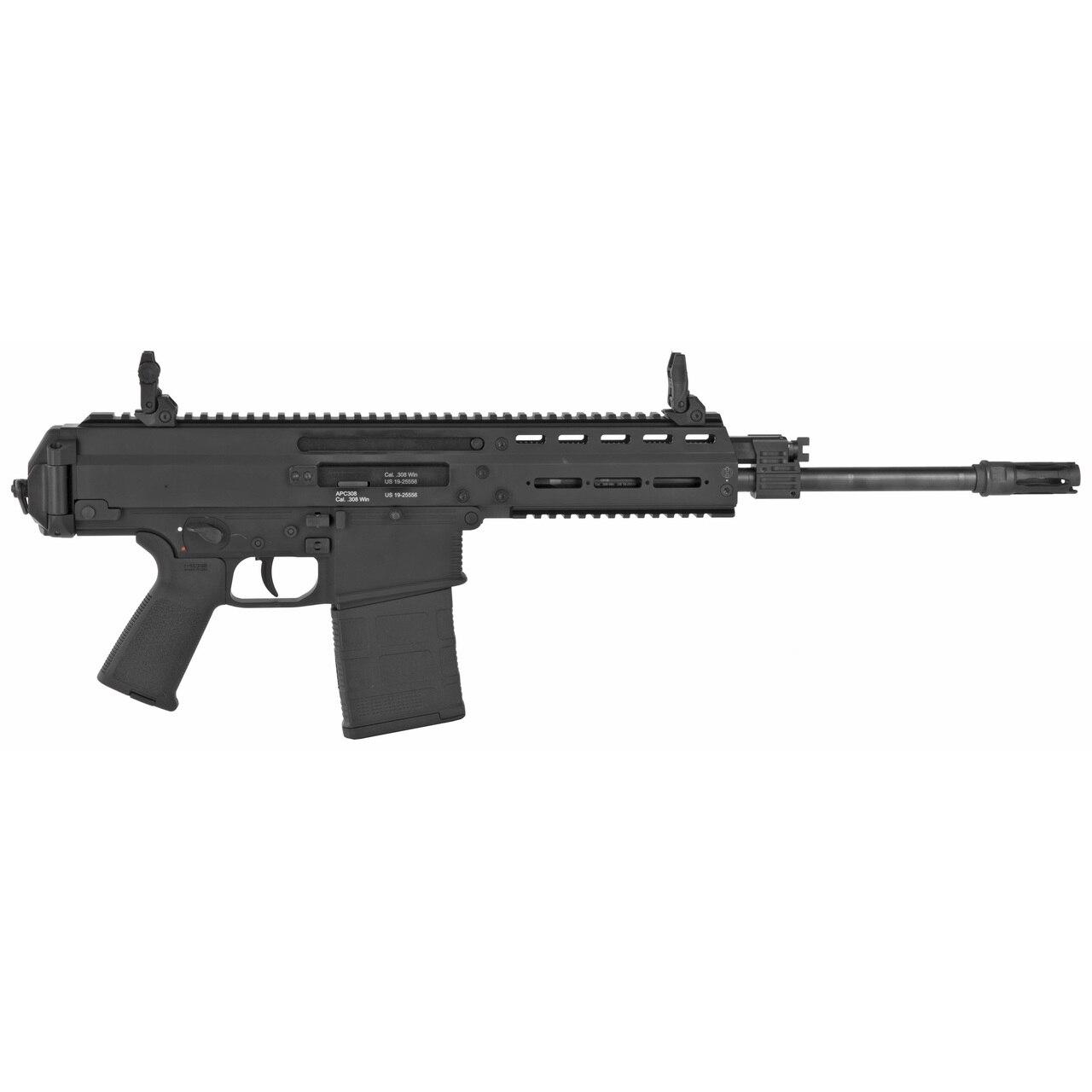 "Image of B&T APC308 Pistol, .308/7.62x51 14.3"" Barrel, Steel Frame, Black Finish, 20rd Mag"