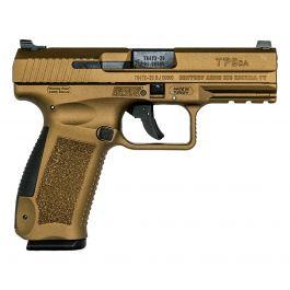 """Image of Canik TP9DA 4.07"""" 9mm Pistol, Burnt Bronze - HG4873B-N"""