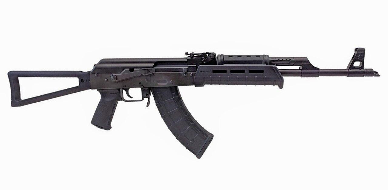 "Image of Century VSKA AK47 7.62x39mm, 16.5"" Barrel, Triangular Stock, MOE Handguard, Black, 30rd"