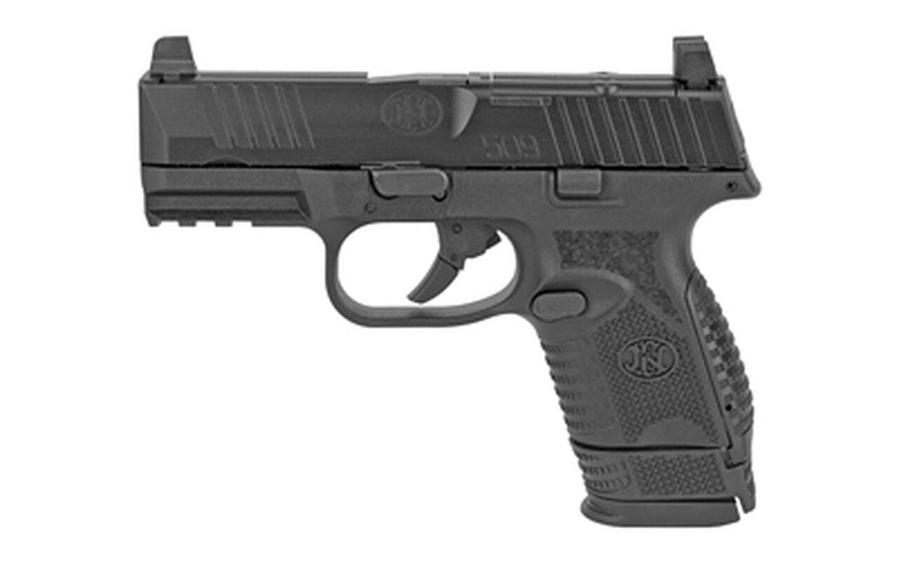 "Image of FN 509 Compact MRD 9mm, 3.7"" Barrel, FN Optics Mounting System, Black, 12rd/15rd"