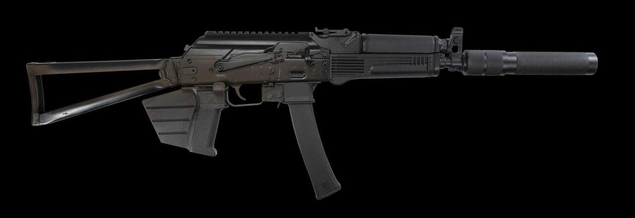 "Image of Kalashnikov USA KALI 9 9mm, 16"" Barrel, Compliant Fin Grip, Fixed Stock, Black, 10rd"