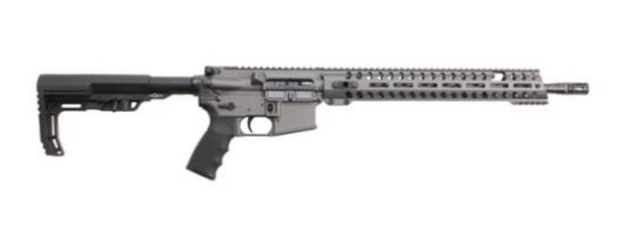 "Image of POF Renegade AR-15 5.56 16"" Barrel Gray Finish, M-Lok Rail 30 Rd Mag"