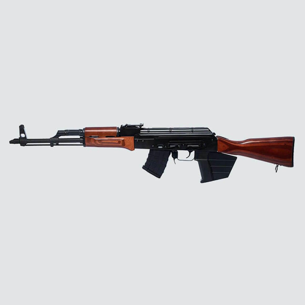 """Image of Riley Defense RAK47 7.62X39, 16"""" Barrel, Black, Wood Stock, CA Compliant, 10 Rd Mag"""