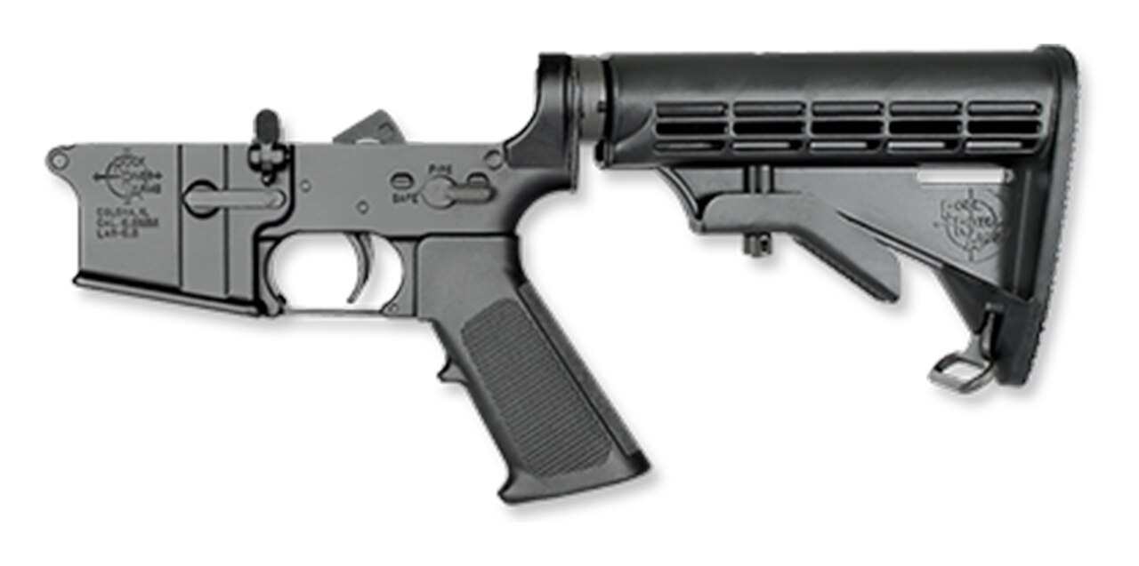 Image of Rock River Arms Complete Lower Half, AR-15 Two Stage Trigger, CAR Stock 5.56/223, Multi