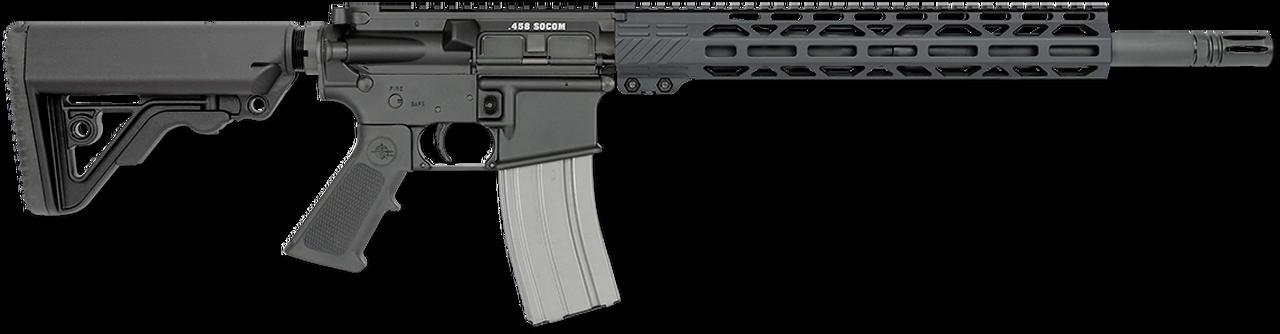 "Image of Rock River Arms CAR A4 LAR-458 AR-15 458 SOCOM 16"" Bull Barrel A2 Stock 13"" M-lok Rail"