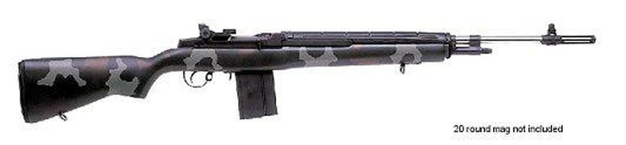 Image of Springfield M1A Super Match Green Stainless Steel Barrel California Version