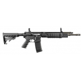 """Image of Ruger SR-556C 5.56 NATO Carbine 16"""" Barrel with Black Synthetic Collapsible Stock 5905"""