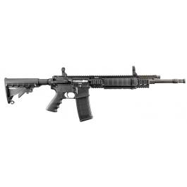 """Image of Ruger SR-556FB 5.56 NATO AR-15 Rifle 18"""" Barrel with Black Synthetic Collapsible Stock 5902"""